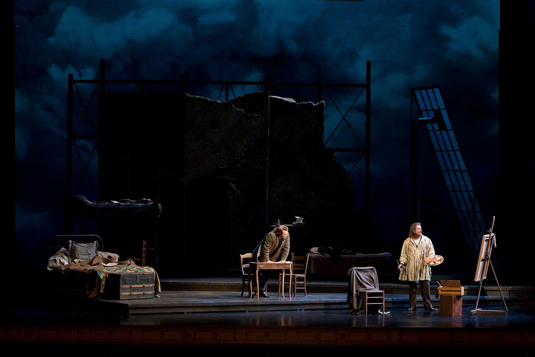 Josh epstein lighting design la boheme