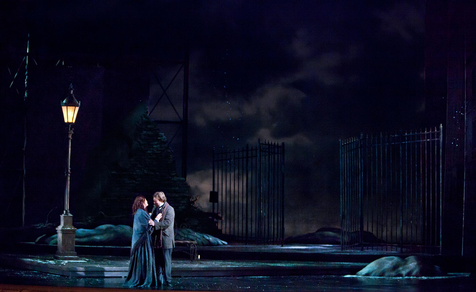 Josh Epstein Design - Opera Santa Barbara - Lighting Boheme