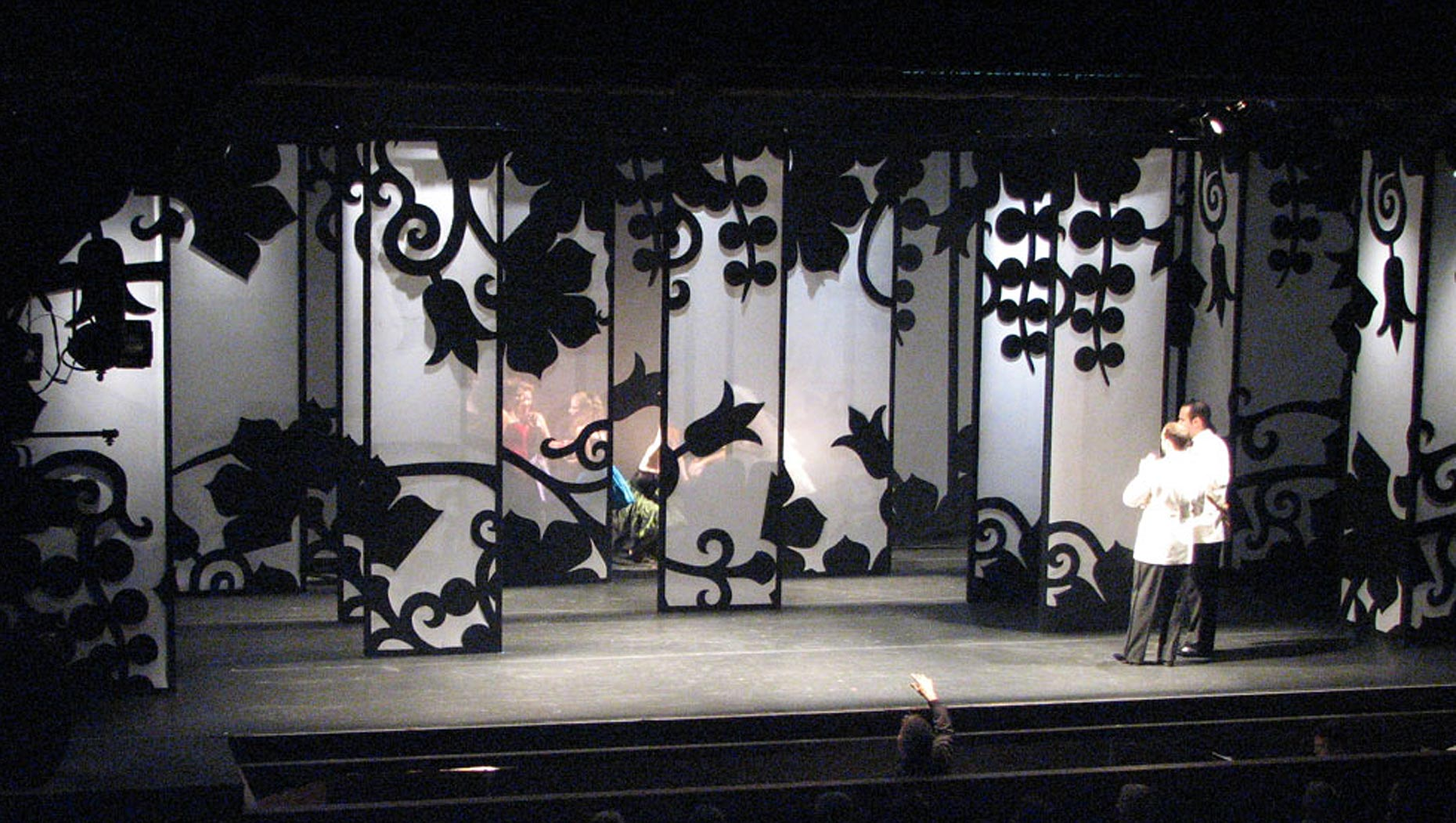 Josh Epstein Design - Wolf Trap Opera Lighting Orpheus