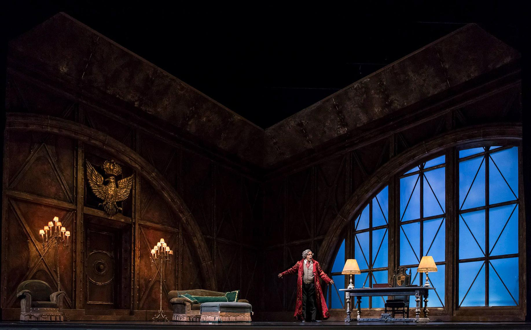 Josh Epstein Design - Opera Santa Barbara - Lighting Pasquale