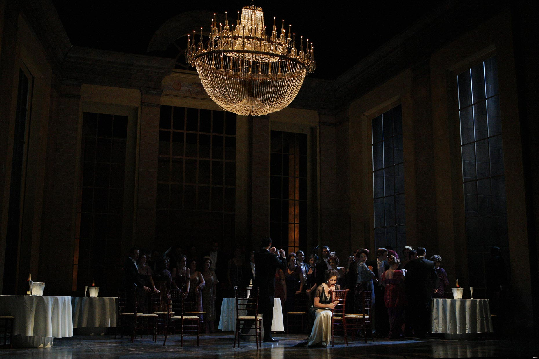 Josh Epstein Design - Minnesota Opera - Lighting Traviata